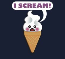 I SCREAM! Kids Tee