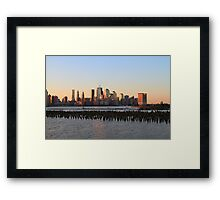I cover the waterfront Framed Print