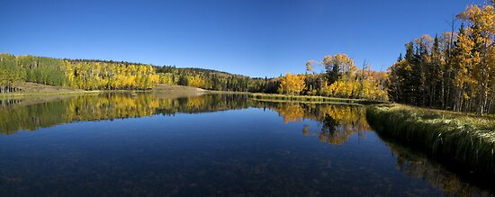 Posey Lake Panorama by Brian Hendricks