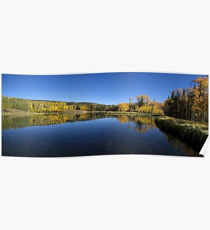 Posey Lake Panorama Poster