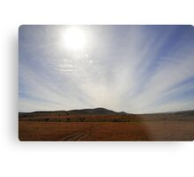 Golden Plains Metal Print