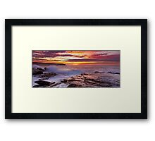 Long Bay Reflections Framed Print