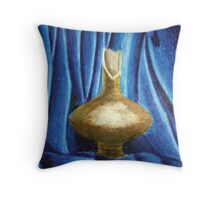 The broken pitcher Throw Pillow