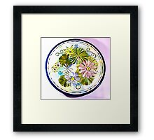 Waterlily Fantasy Framed Print