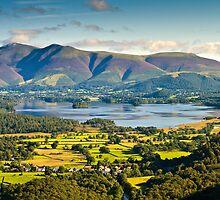 Skiddaw, Cumbria. UK by David Lewins