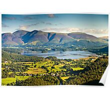 Skiddaw, Cumbria. UK Poster
