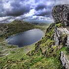 Red Tarn from Striding Edge by Guy Carpenter