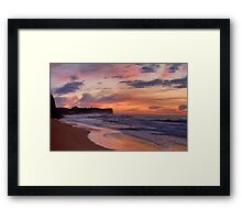 Just Another Day In Paradise - Warriewood Beach, Sydney - The HDR Experience Framed Print