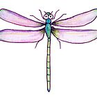 Drawing Day Dragonfly by Jo Holden