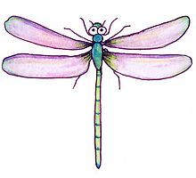 Drawing Day Dragonfly by FineEtch