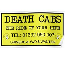 The Mighty Boosh – Death Cabs Poster
