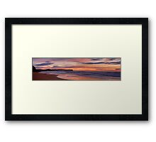 Adventures In Paradise (30 Exposure HDR Panoramic) - Warriewood Beach, Sydney - The HDR Experience Framed Print