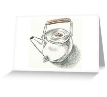 Drawing Day - Teapot Greeting Card