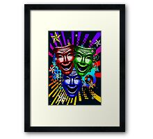 HYPER COMEDY #9 Framed Print
