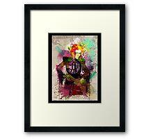 Fashionista Framed Print
