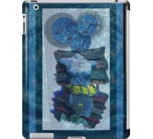 mystery and the blue face iPad Case/Skin
