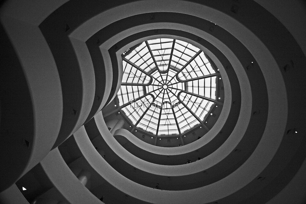Solomon R. Guggenheim Museum - New York by fionapine