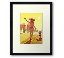 rear of the year Framed Print