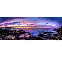 Rainbow sky Photographic Print