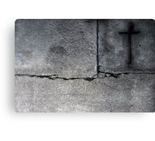 The Lonely Cross Canvas Print