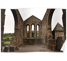 Balltinglass Abbey Wicklow. Poster