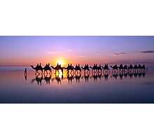 Iconic Camels on Cable Beach Photographic Print
