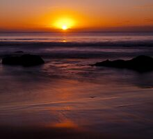 Pambula Sunrise by John Vandeven