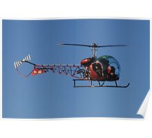 Hellicopter over my head Poster
