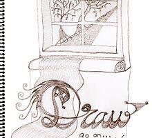 I'm afraid to draw... by Soxy Fleming