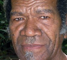A Senior Citizen of the Island of Wala, Vanuatu. by Maureen Dodd