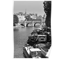 Living on the Seine Poster