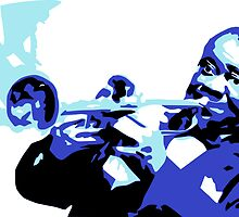 Louis Armstrong by colourfreestyle
