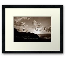 Your Brother Will Always Be With You Framed Print