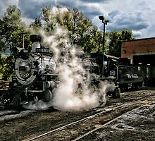 Chama Steam - II by Marilyn Cornwell