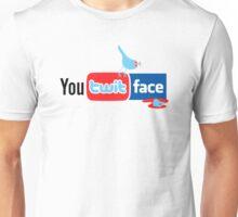 You Twit Face Unisex T-Shirt
