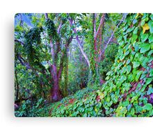 Everthing Green Canvas Print