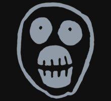 The Mighty Boosh – Big Mask (Grey) One Piece - Short Sleeve