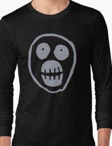 The Mighty Boosh – Big Mask (Grey) Long Sleeve T-Shirt
