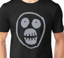 The Mighty Boosh – Big Mask (Grey) Unisex T-Shirt