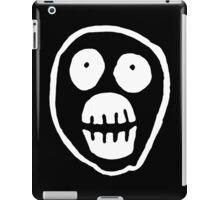 The Mighty Boosh – Big Mask (White) iPad Case/Skin
