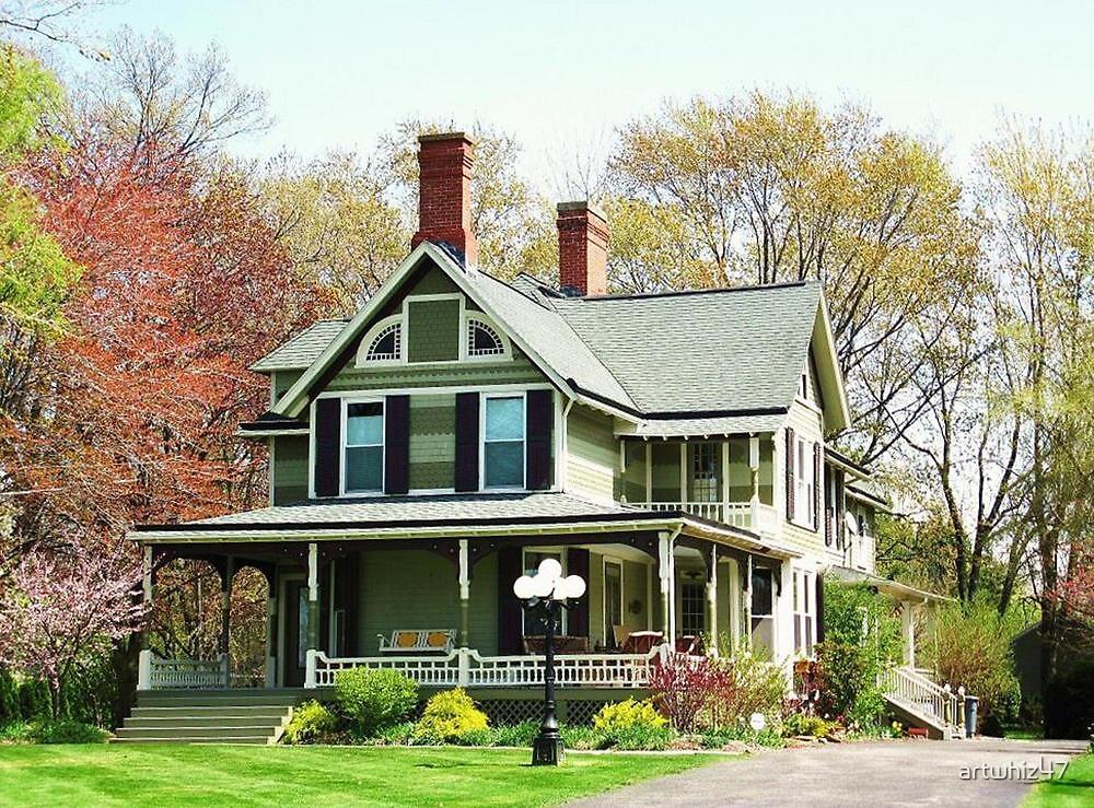 Great Great Grandpa's House ~ Lewiston, NY by artwhiz47