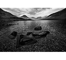Wastwater 04 - Classic View of Wasdale, Cumbria Photographic Print