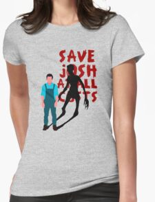 SAVE JOSH WASHINGTON! Womens Fitted T-Shirt