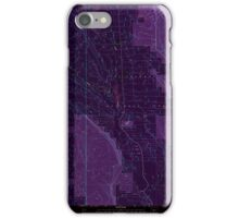 USGS Topo Map Oregon Location Butte 280559 1999 24000 Inverted iPhone Case/Skin