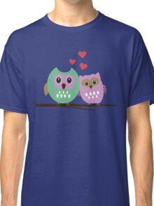Owl couple Classic T-Shirt