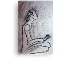Random Sketch 03...Drawing Day Canvas Print
