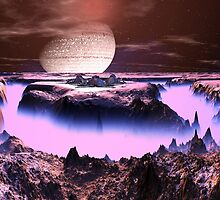 Moonbase Isis - Planet Aurora by SpinningAngel