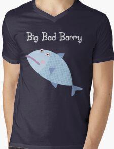 Big Bad Barry Mens V-Neck T-Shirt