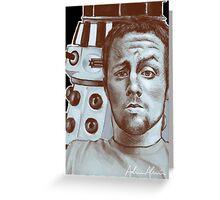 Sneeky Dalek Greeting Card