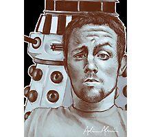 Sneeky Dalek Photographic Print